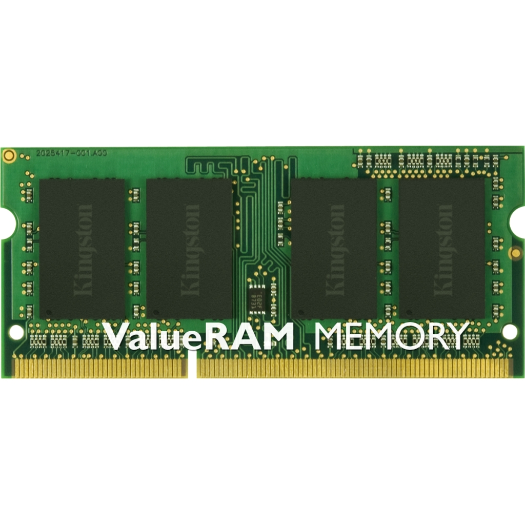 Kingston 4GB 1333MHz DDR3 Non-ECC CL9 SODIMM SR X8 KVR13S9S8/4