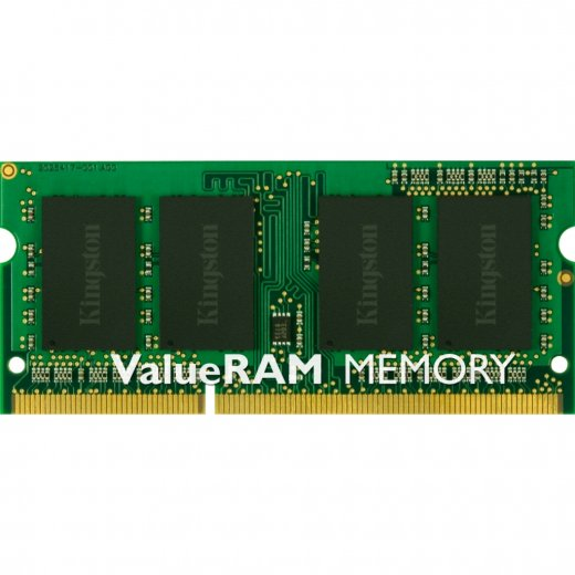 KINGSTON 4GB DDR3 1600MHz SODIMM - DDR3 - 740617207781 - 1