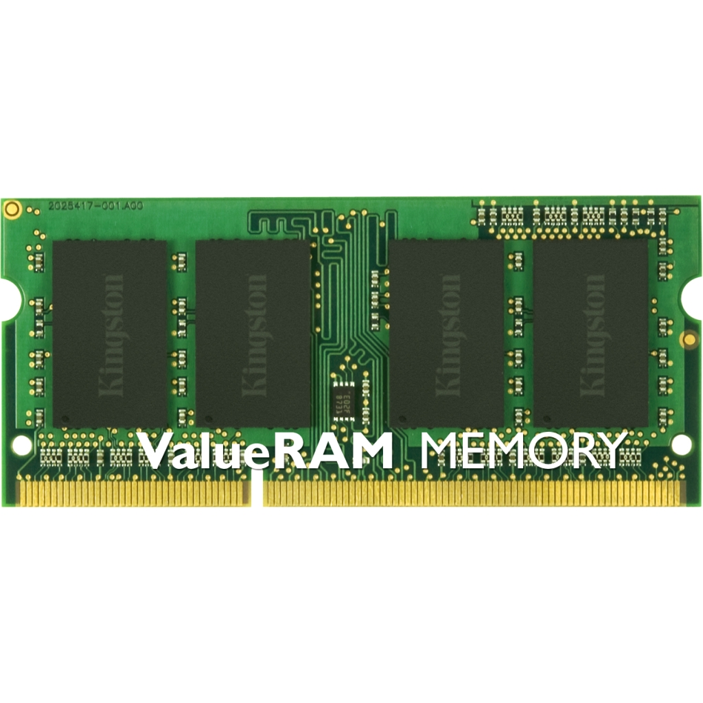 Kingston 8GB 1333MHz DDR3L ECC CL9 SODIMM 1.35V KVR13LSE9/8